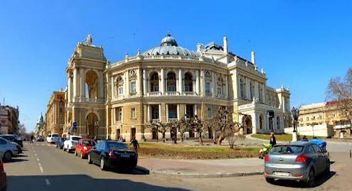 Оперный театр, Одесса, как доехать до Одессы