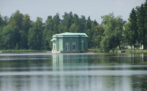 Павильон Венеры, Гатчина, достопримечательности трассы М20