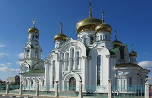 Свято-Троицкий Храм, трасса Р268, Батайск, как доехать до Ейска