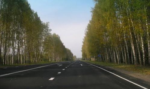 Трасса А116, дорога А116 после ремонта в псковской области