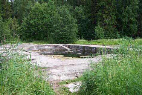 Холодная ванна, Гатчина, трасса М20