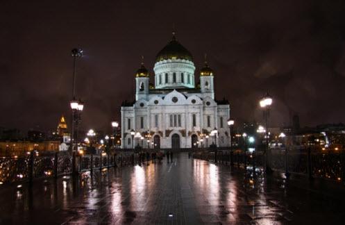 Храм Христа Спасителя, достопримечательности Москвы