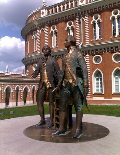 Царицыно, скульптура, достопримечательности Москвы