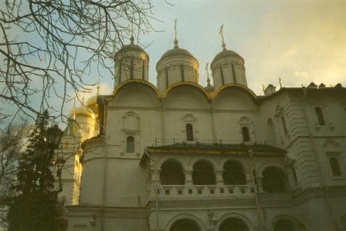 Москва. Главная достопримечательность страны