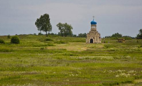 Вид с трассы М1, как доехать до москвы