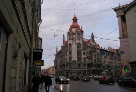 Дом городских учреждений, Петербург
