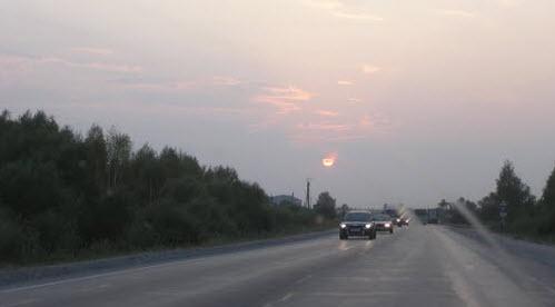 Дорога М5, в Мордовии