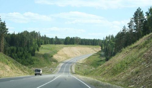 Трасса Р242, маршрут Казань — Екатеринбург