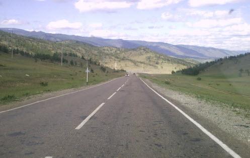 Дорога к Байкалу из Красноярска