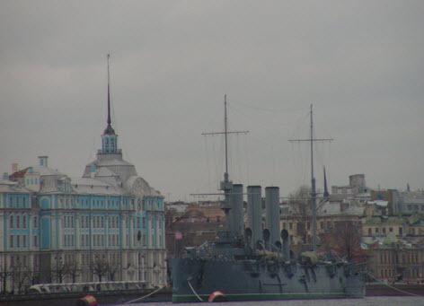 Крейсер аврора, Петербург