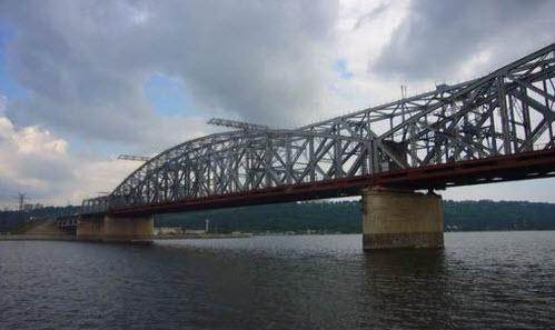 Мост через Волгу в Ульяновске, трасса Р-178
