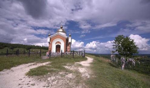 Никольская гора возле п. Сурское, трасса Р-178