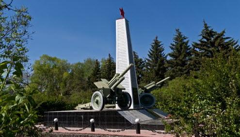 Памятник Славе, Усть-Кинельский, трасса Р225