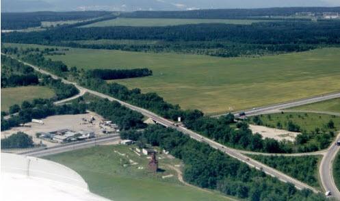 Пересечение трассы Р-178 и трассы М5