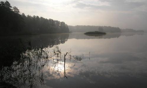 Святое Дедовское озеро, дорога Р125