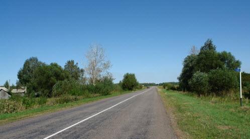 Трасса Р125, дорога Р125