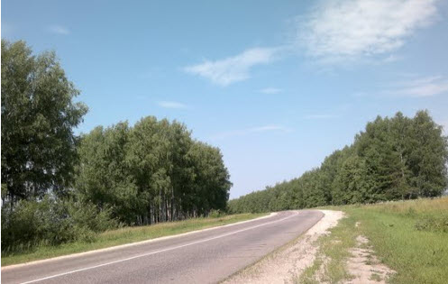Трасса Р125, как доехать до Нижнего Новгорода