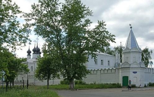 Троицкий монастырь, Муром, трасса р125