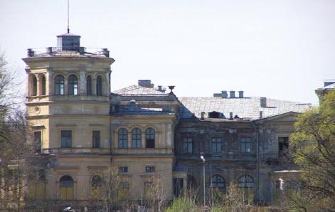 Усадьба Михайловка в Стрельне, достопримечательности трассы М11