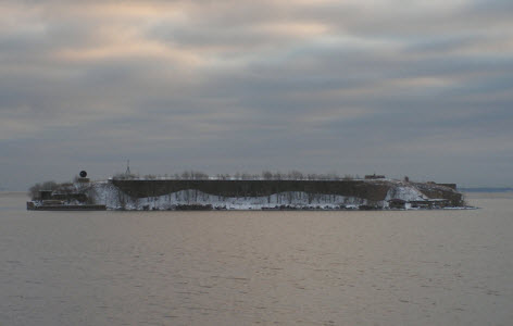 Форт Милютин, финский залив