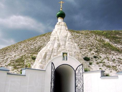 Церковь Серафима Саровского, трасса М4
