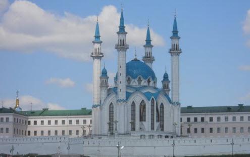 мечеть Кул Шариф, Казань, трасса Р241