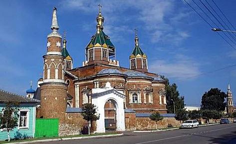 Брусенский монастырь, коломна, трасса Р115