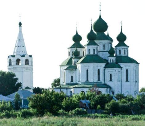 Воскресенский войсковой собор и шатровая колокольня, трасса Дон достопримечательности