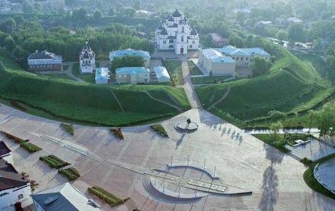 Достопримечательности трассы А104 и трассы М10 — город Дмитров