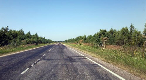 Дорога Р86, трасса Р86