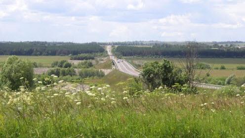 Трасса Р95, маршрут Голодское – Суворов – Одоев