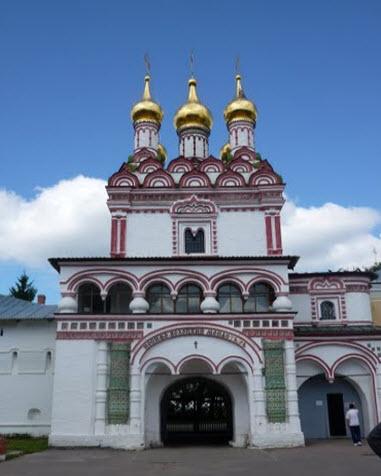 Иосифо-Волоколамский монастырь, трасса Р107