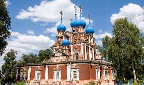 Казанская церковь, устюжна, трасса Р84
