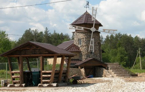 Кафе Папина дача, трасса М10, новгородская область