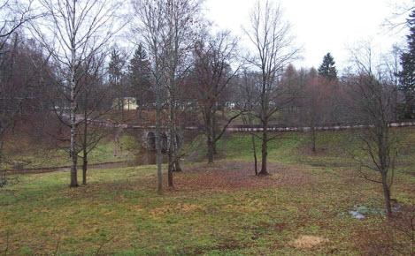 Ломоносовский парк, трасса М11