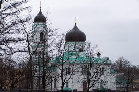 Ломоносов, собор Архангела Михаила, трасса М11