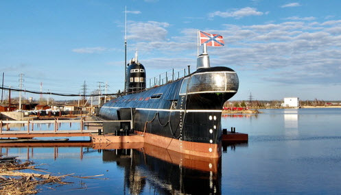 Музей Подводная лодка, Вытегра, трасса Р37
