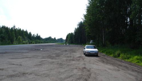 Площадка для отдыха, трасса Р98 Кострома Верхнеспасское