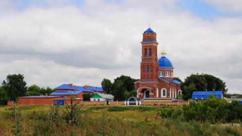 Свято-Казанский монастырь, папоротка, трасса Р142