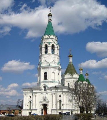 Собор Александра Невского, егорьевск, трасса Р115