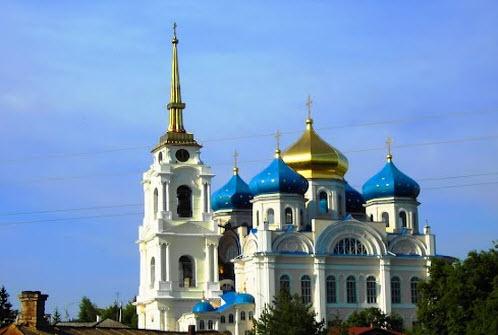 Спасо-Преображенский собор, Болхов, трасса Р92