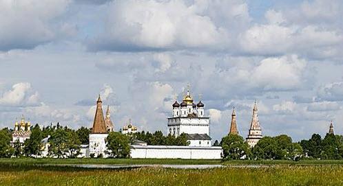 Теряево, Иосифо-Волоколамский монастырь, трасса Р107