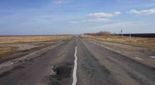 Трасса Р208, екатерининский район, маршрут Тамбов Саратов