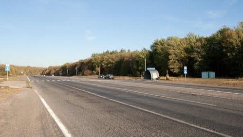Трасса 209, дорога Р209 возле Пензы