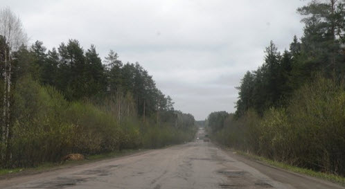 Трасса Р37, маршрут Лодейное Поле — Подпорожье — Вытегра