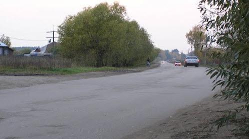 Трасса Р86 возле Калязина
