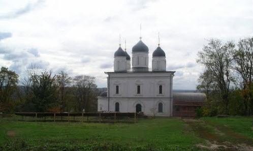 Троицкий Оптин монастырь, трасса Р92
