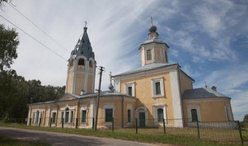 Успенская церковь, чухлома, трасса Р100