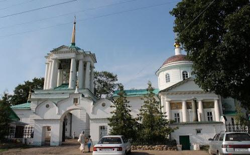 Успенский собор, Богородицк, трасса Р142