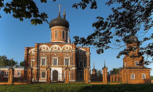 Храм Николая Чудотворца, Волоколамск, трасса Р108